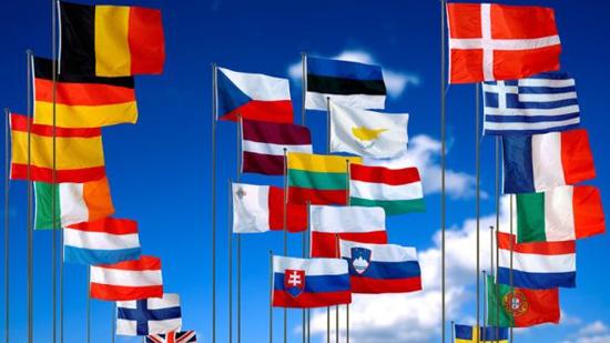 drapeaux europeens