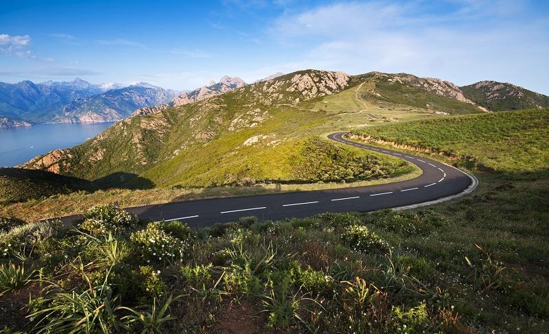 route en montagne